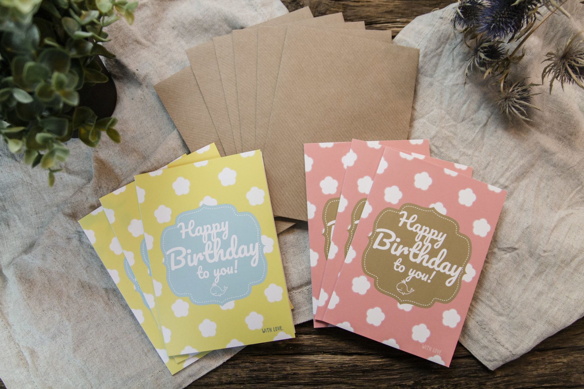 Buy High Quality Happy Birthday Cards With Style And Envelopes